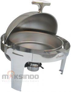 Jual Chafing Dish Bentuk Bulat (Round Roll) 6 Liter di Malang