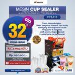 Jual Mesin Cup Sealer Manual (CPS-818) di Malang