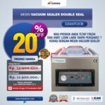 Jual Vacuum Sealer Double Seal DZ400T/2CB Di Malang