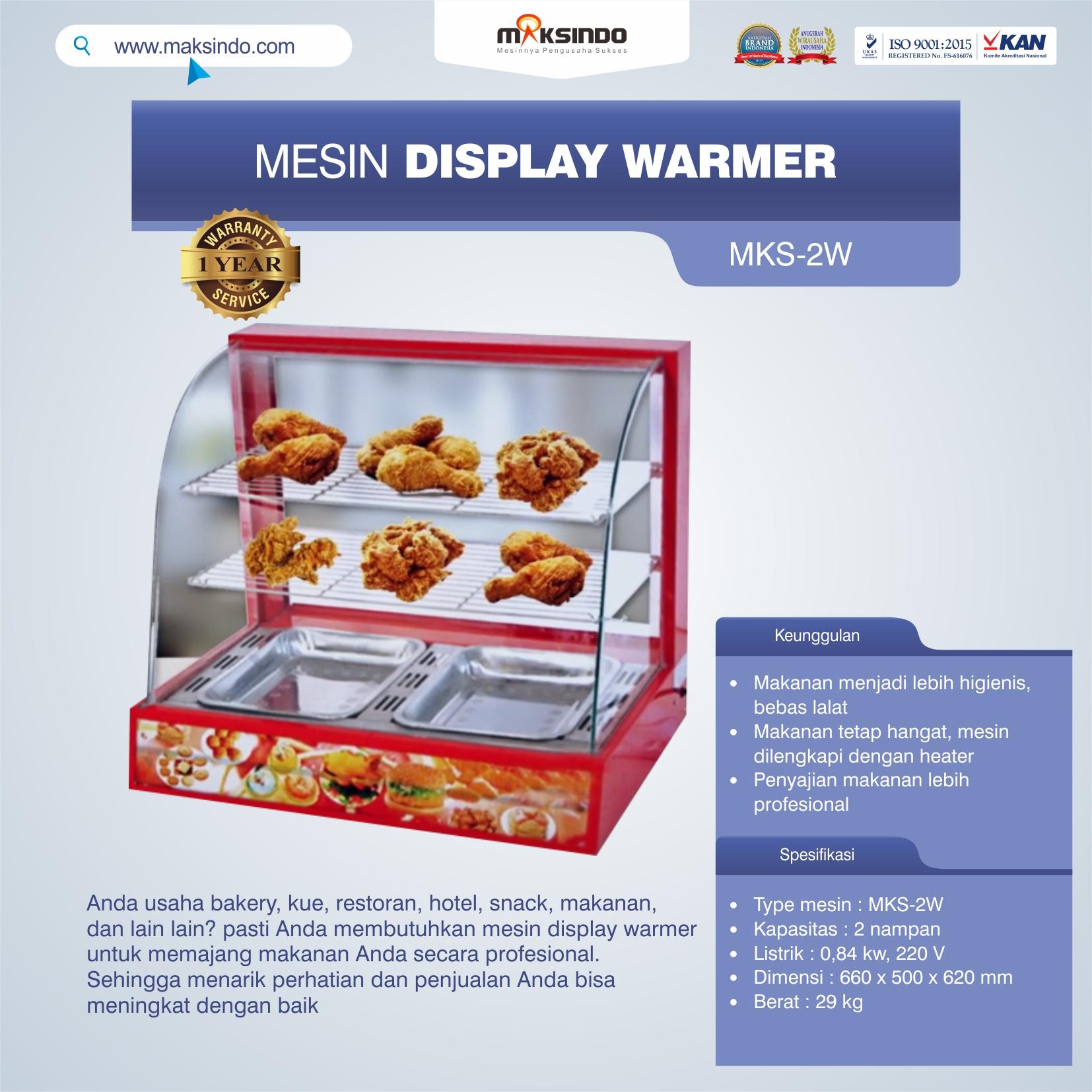 Jual Mesin Diplay Warmer (MKS-2W) di Malang