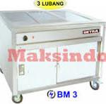Jual Mesin Bain Marie Counter (Penyaji Makanan) di Malang