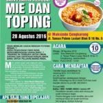 Training Usaha Mie dan Toping di Cengkareng 28 Agustus 2016