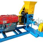Jual Mesin Pencetak Pelet Ikan Terapung (Diesel) di Malang