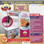 Paket Usaha Egg Waffle (Gas) Program BOM