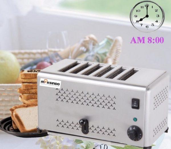 Jual Mesin Bread Toaster (Roti Bakar-D06) di Malang
