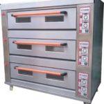 Jual Mesin Oven Roti Gas 3 Rak 9 Loyang (GO39) di Malang