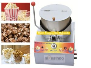 Mesin Popcorn Gas (MKS-POP10) 2 tokomesin malang