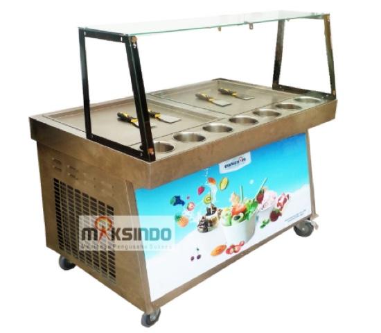 Jual Mesin Roll Fry Ice Cream RIC50x2 di Malang
