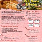 Training Usaha Roti Manis dan Tawar, 25 November 2017