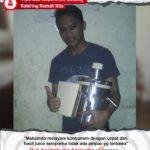 Katering Rumah Kita : Hasil Juice Sempurna Tidak Ada Ampas Dengan Juice Extractor Maksindo