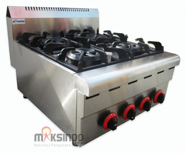 Jual Counter Top 4-Burner Gas Range di Malang
