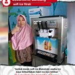 Soft Ice Fitrah : Mesin Soft Ice Cream Membantu Usaha
