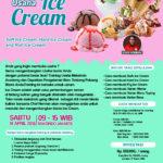 Training Usaha Ice Cream Dan Topping, 14 April 2018