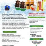 Training Usaha Aneka Minuman Kekinian, 22 Juli 2018