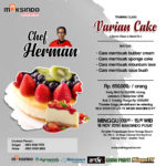 Training Usaha  Varian Cake, 18 november 2018
