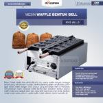 Jual Mesin Waffle Bentuk Bell (MKS-BELL5) di Malang