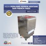 Jual Mesin Perajang Keripik Kentang dan French Fries – MKS-CT100A di Malang