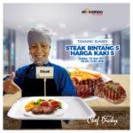 Training Sukses Steak Bintang 5 Harga Kaki 5, Sabtu 13 Juli 2019