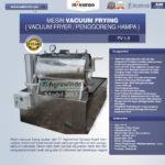 Jual Mesin Vacuum Frying Kapasitas 1.5 kg di Malang