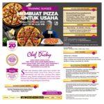 Training Sukses Membuat Pizza Untuk Usaha,Minggu, 13 Oktober 2019