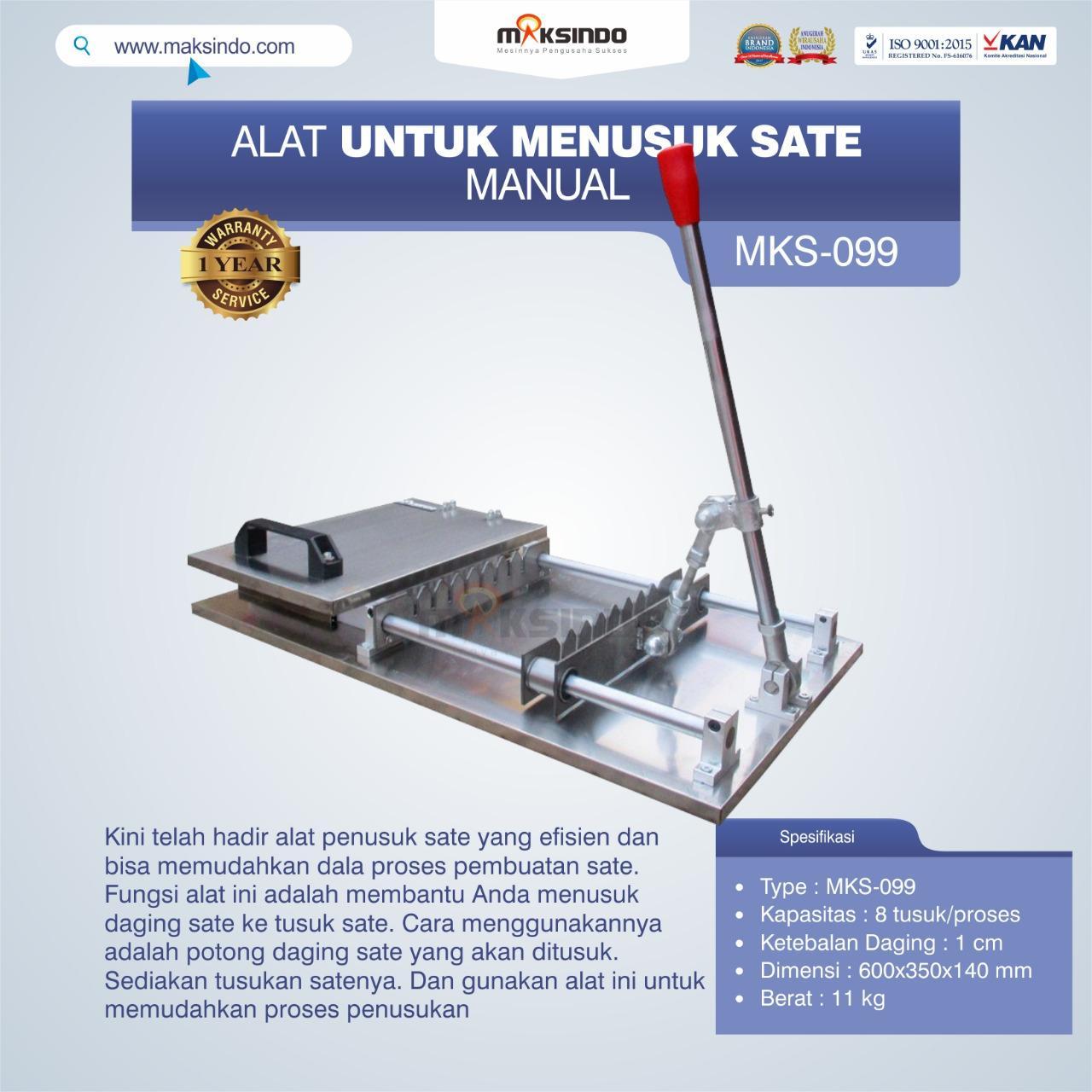 Jual Alat Tusuk Sate ManualMKS-099 di Malang