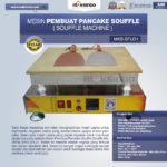 Jual Mesin Pembuat Pancake Souffle (Souffle Machine) MKS-SFL02 di Malang