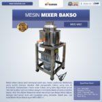 Jual Mesin Mixer Bakso MKS-MX2 Di Malang