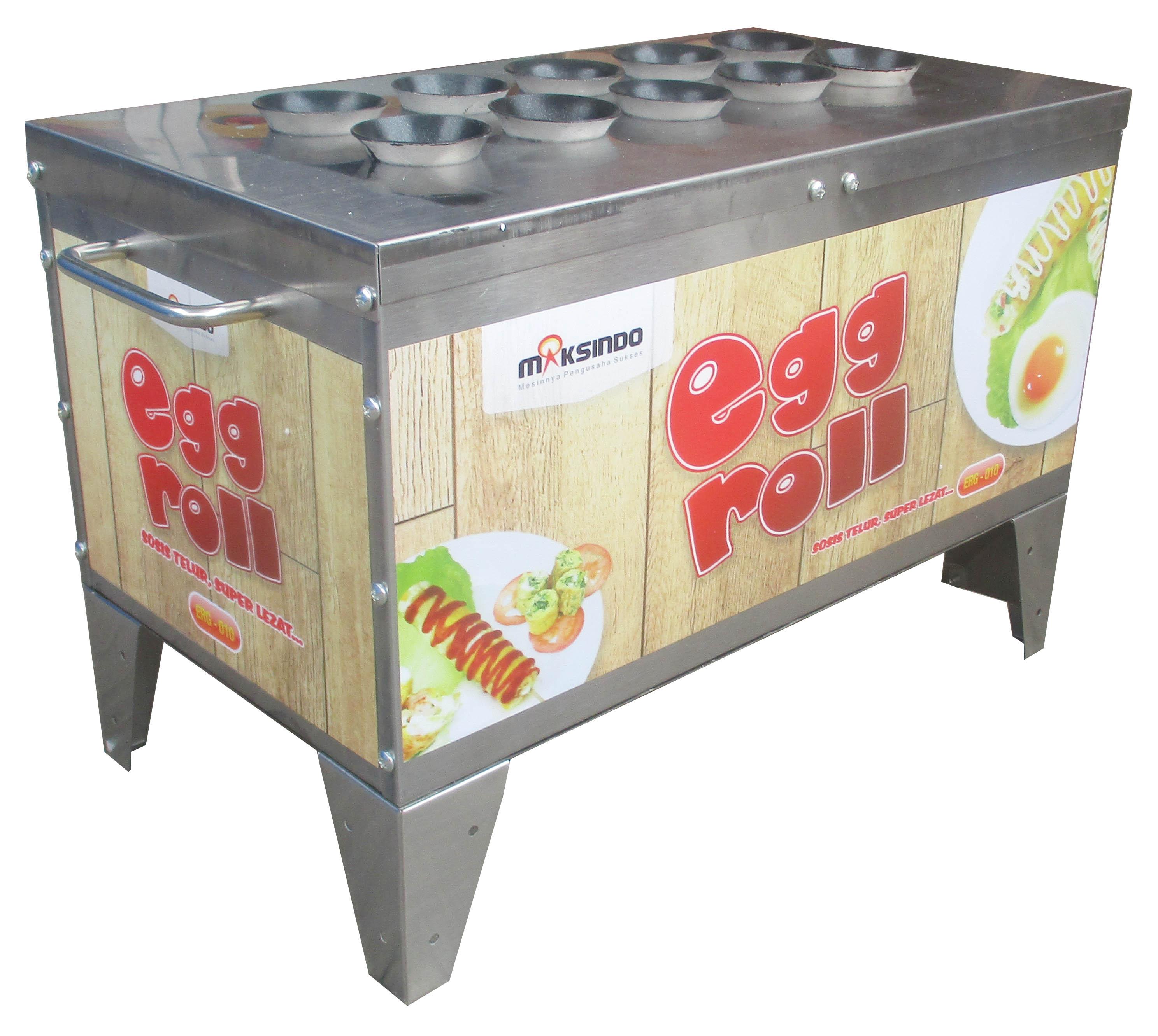Jual Mesin Pembuat Egg Roll ERG-010 di Malang