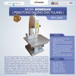 Jual Mesin Bonesaw MKS-J320S (pemotong daging dan tulang) di Malang