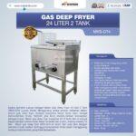 Jual Gas Deep Fryer 24 Liter 2 Tank (G74) di Malang