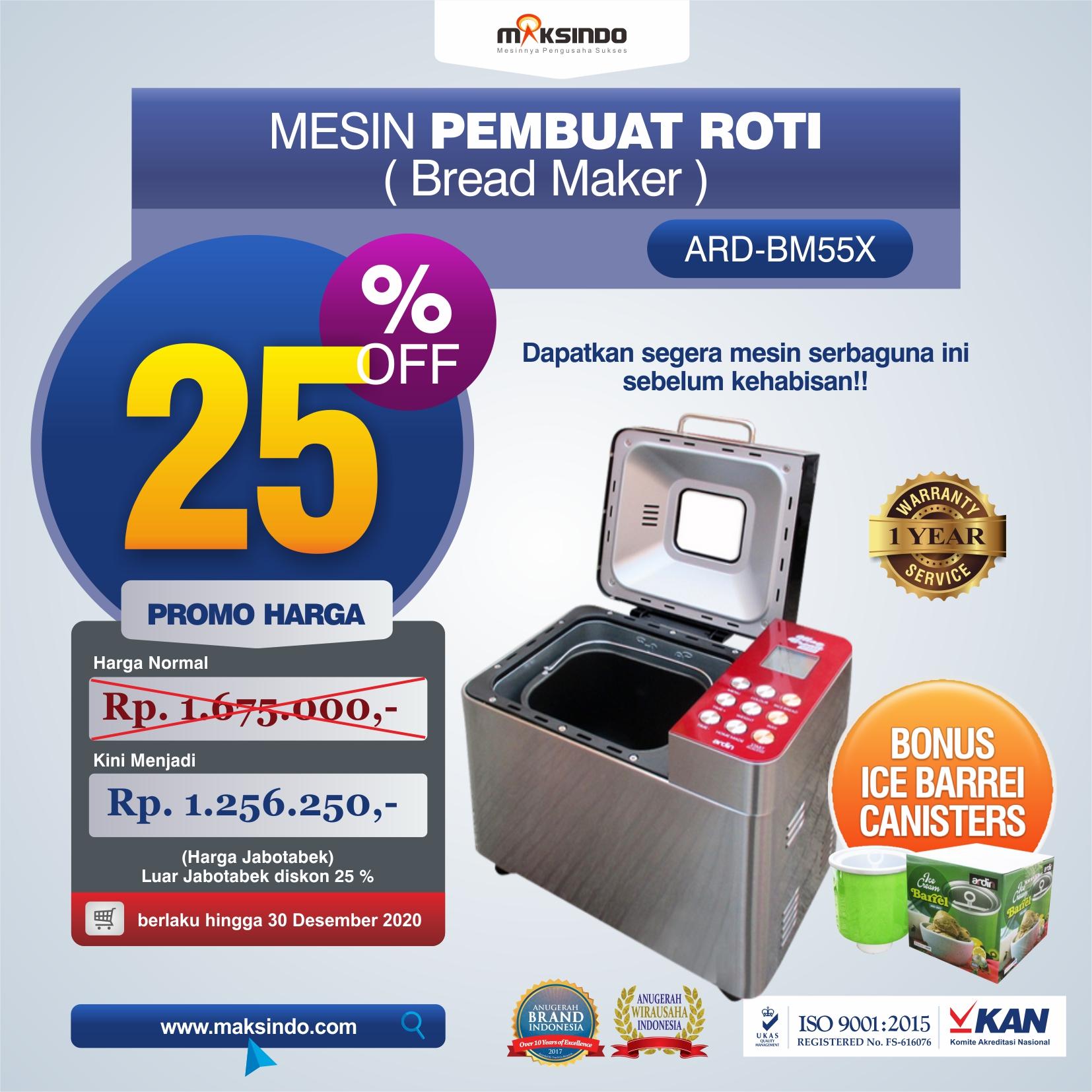 Jual Pembuat Roti Bread Maker ARD-BM55X di Malang