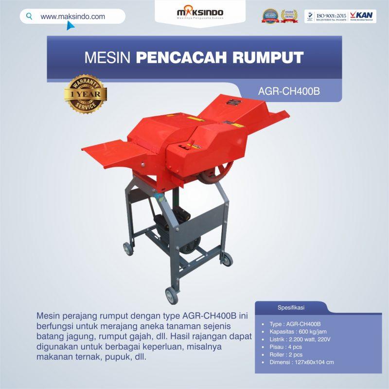 Jual Mesin Pencacah Rumput AGR-CH400B di Malang